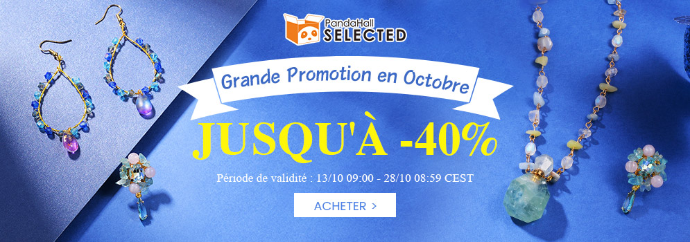 Grande Promotion en Octobre JUSQU'À -40% Période de validité: 13/10 09:00 - 28/10 08:59 CEST ACHETER