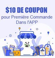 $10 de Coupon pour Première Commande Dans l'APP