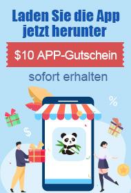 Laden Sie die App jetzt $10 Rabatt für die erste Bestellung über $139