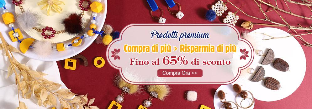 Prodotti premium Compra di più → Risparmia di più Fino al 65% di sconto