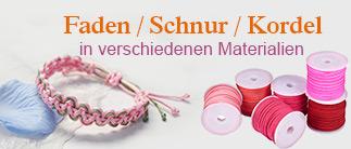 Faden / Schnur / Kordel in verschiedenen Materialien