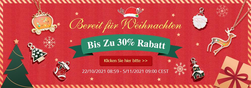 Bereit für Weihnachten Bis Zu 30% Rabatt