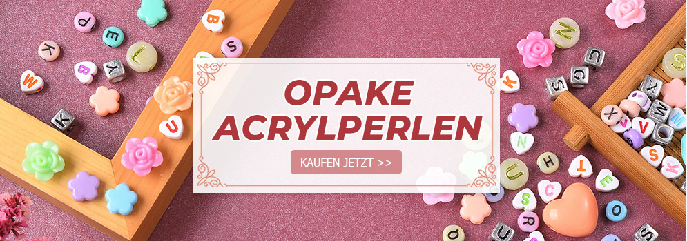 Opake Acrylperlen