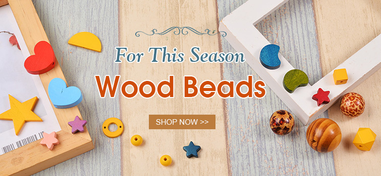 Wood Beads for This Season