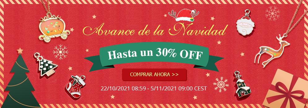 Avance de la Navidad Hasta un 30% OFF 22/10/2021 08:59 - 5/11/2021 09:00 CEST COMPRAR AHORA  >>