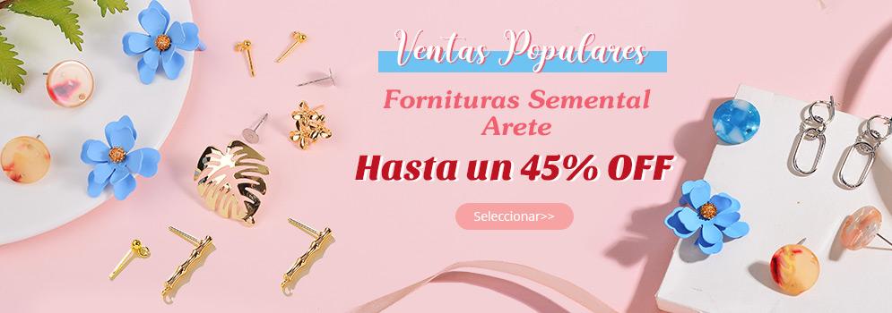 Ventas Populares Fornituras Semental Arete Hasta un 45% OFF Seleccionar>>