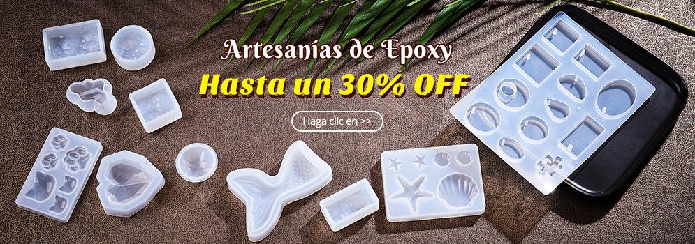 Hasta un 30% OFF Artesanías de Epoxy Haga clic en >>