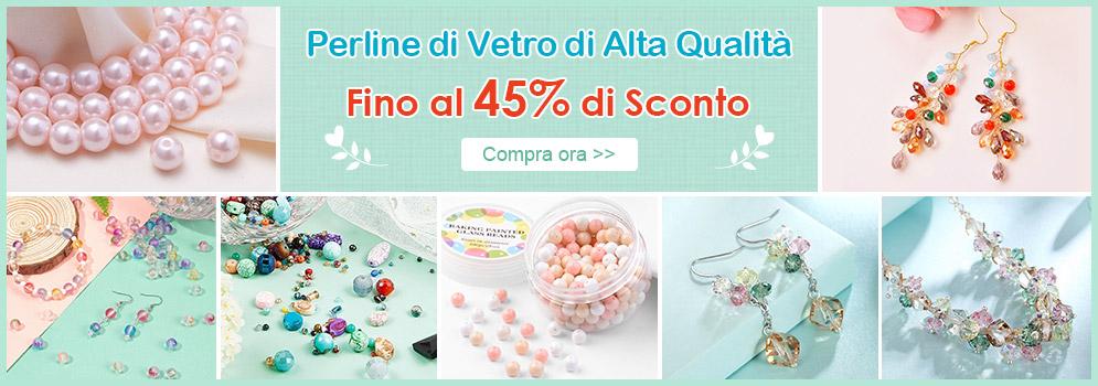 Perline di Vetro di Alta Qualità Fino al 45% di Sconto